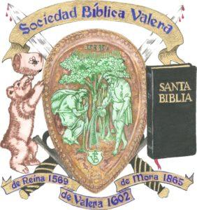 El Escudo de la Sociedad Bíblica Valera