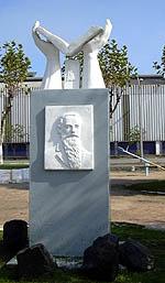 Juan Canut de Bon monumento en Chile