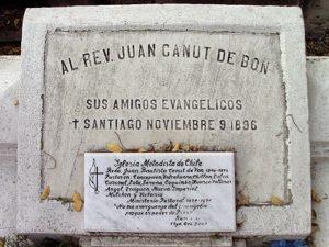 Juan Canut de Bon lápida