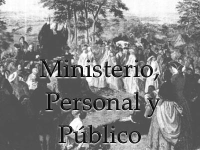 Ministerio, Personal y Público