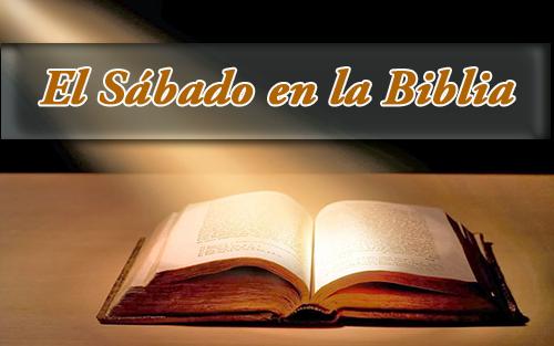 La palabra Sábado en la Biblia